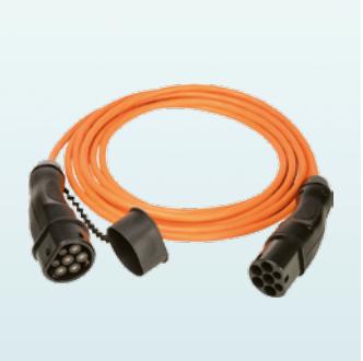 WALTHER 9773120000 AC Ladekabel Typ 2 5m 32A 1-phasig
